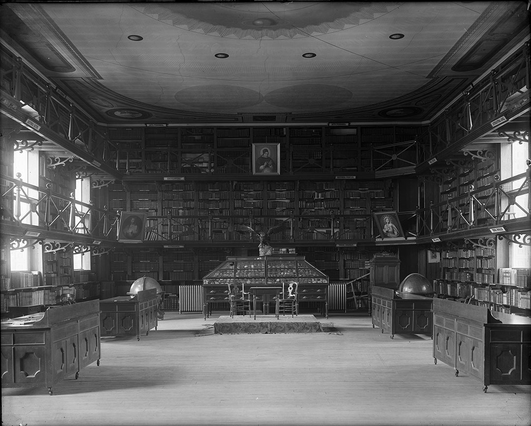 Woodstock Theological Library, 1932; John Brosnan, S.J., Photographic Collection, Georgetown University Library
