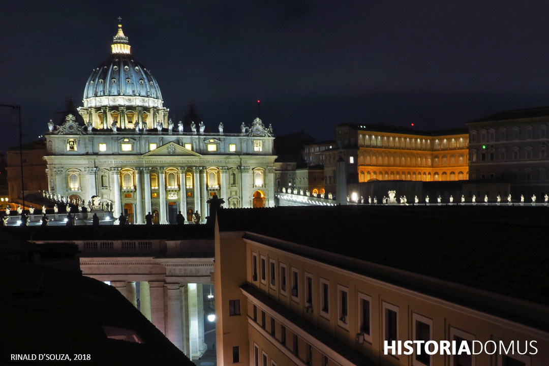 The Shift in the Vatican Secret Archives