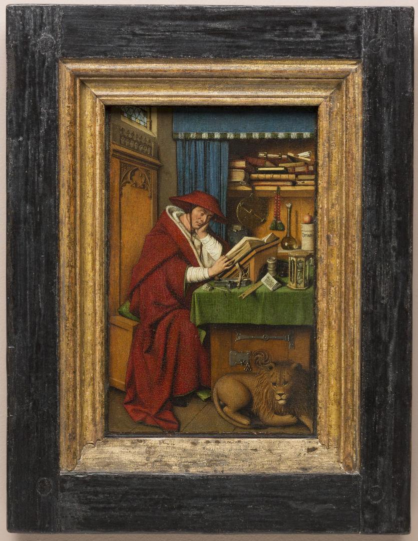 "Hubert and Jan van Eyck, ""Saint Jerome in his Study,"" c. 1442 | The Detroit Institute of Arts, Detroit"