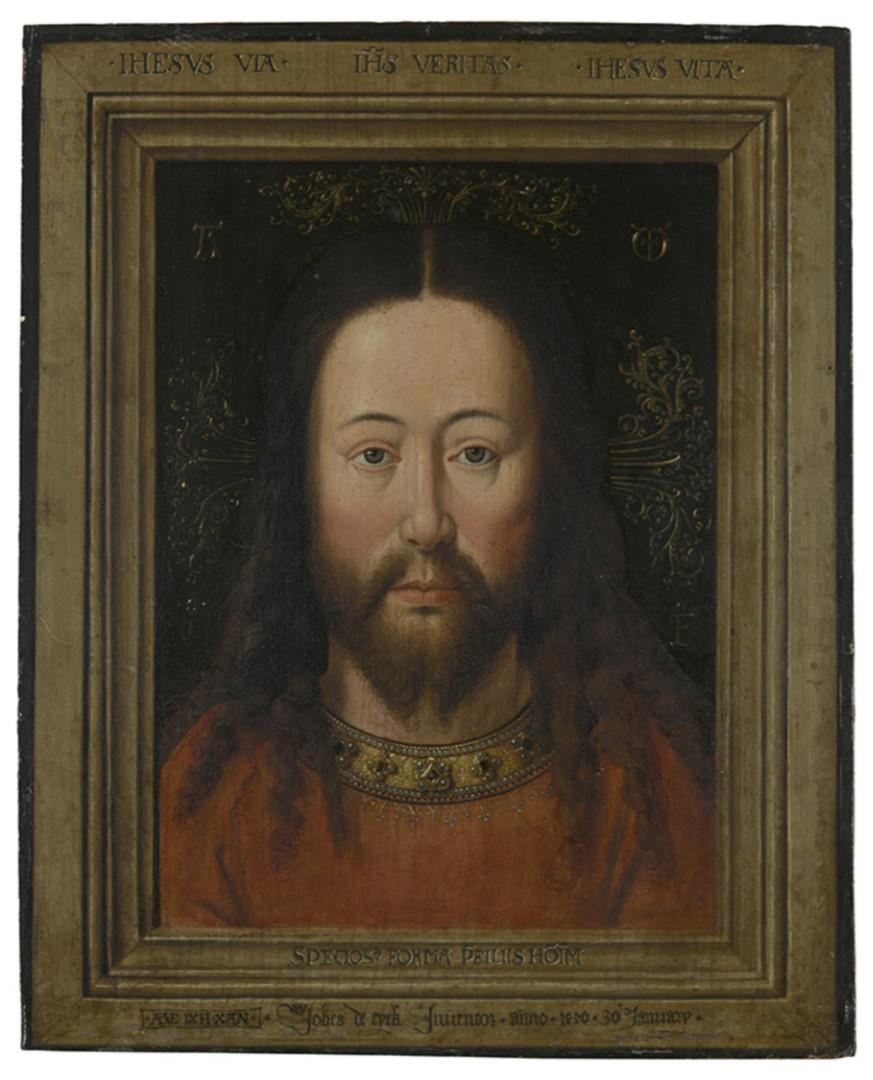 "After Jan van Eyck, "" Vera Icon,"" 17th century | Groeningenmuseum, Bruges"