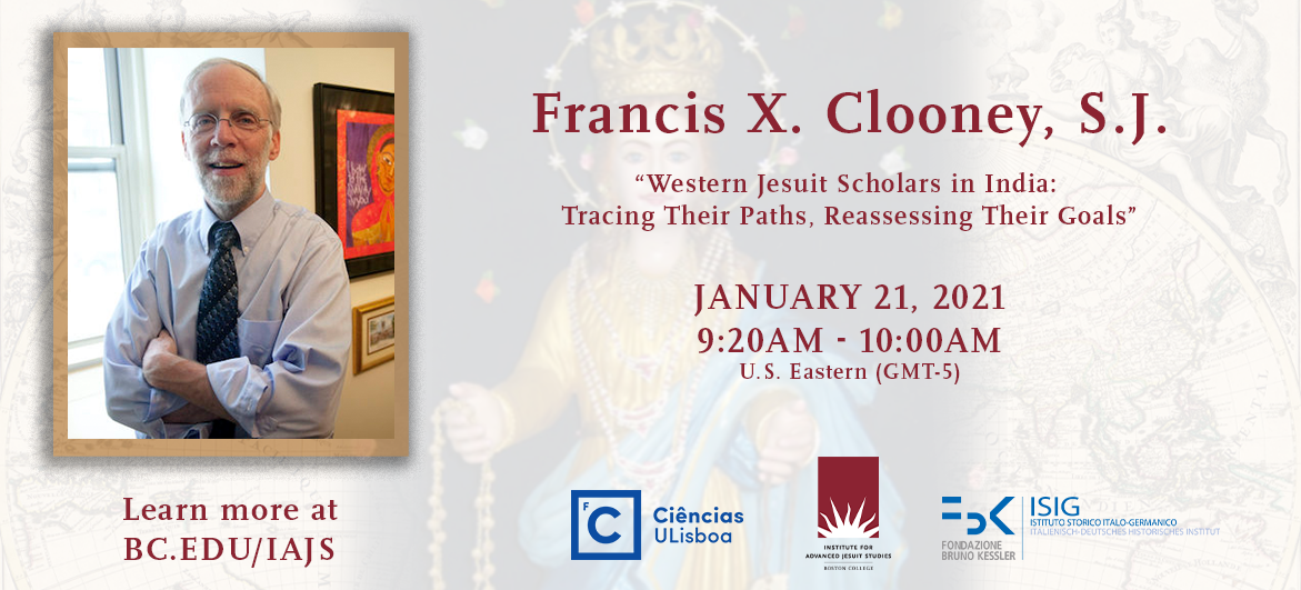 Western Jesuit Scholars in India: Tracing Their Paths, Reassessing Their Goals | Francis X Clooney SJ