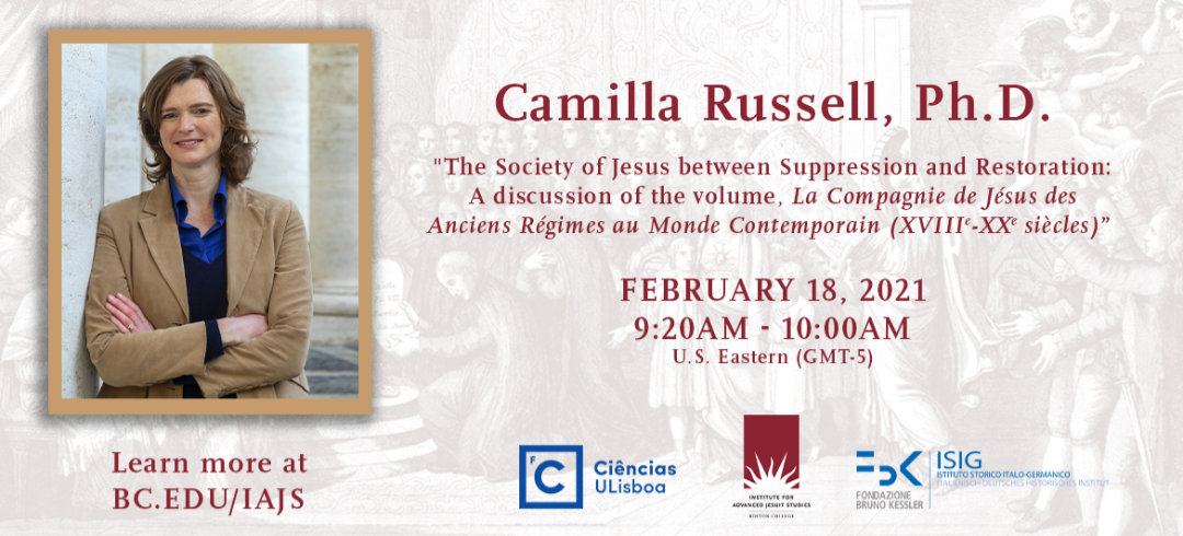 Camilla Russell | The Society of Jesus between Suppression and Restoration | 18 February 2021